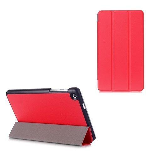 Gaarder Lines Huawei Mediapad M1 8.0 Nahkakotelo Läpällä Punainen