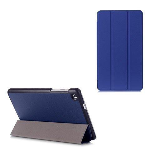 Gaarder Lines Huawei Mediapad M1 8.0 Nahkakotelo Läpällä Tummansininen