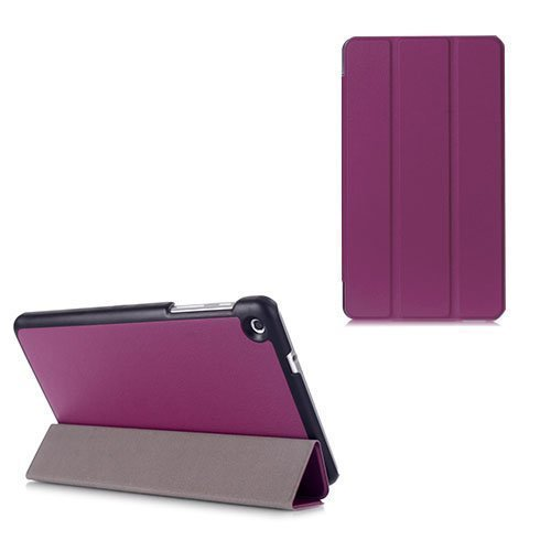 Gaarder Lines Huawei Mediapad M1 8.0 Nahkakotelo Läpällä Violetti