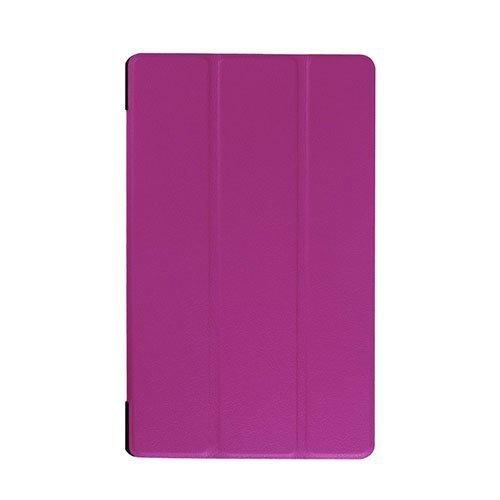 Gaarder Lines Lenovo Tab A8-50 Nahkakotelo Standillä Violetti