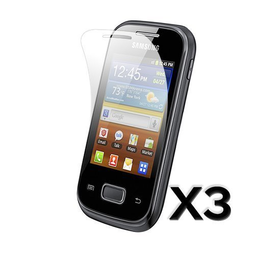 Galaxy Pocket Näytön Suojakalvo 3 Kpl