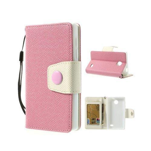 Gamma Pinkki Nokia X Nahkakotelo