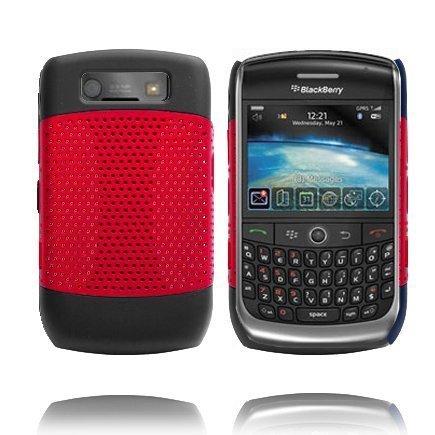 Gamma Shield Punainen Blackberry Curve 8900 / 9300 Suojakuori