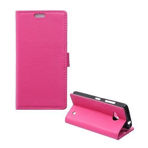 Garborg Microsoft Lumia 550 Nahkakotelo Kuuma Pinkki
