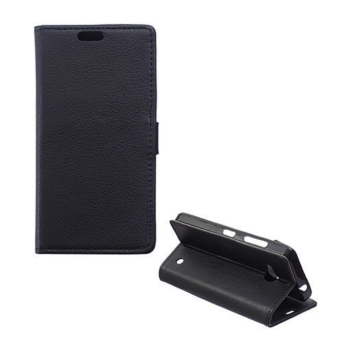 Garborg Microsoft Lumia 550 Nahkakotelo Musta