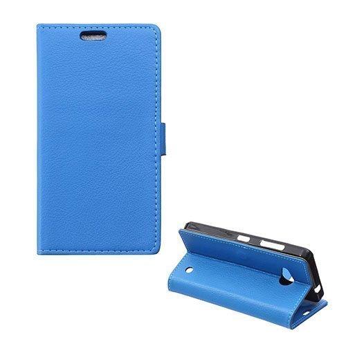 Garborg Microsoft Lumia 550 Nahkakotelo Sininen