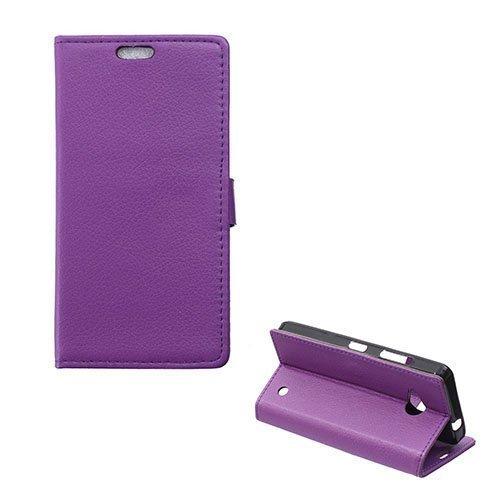 Garborg Microsoft Lumia 550 Nahkakotelo Violetti