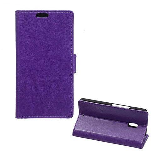 Garborg Motorola Moto X Play Nahkakotelo Violetti