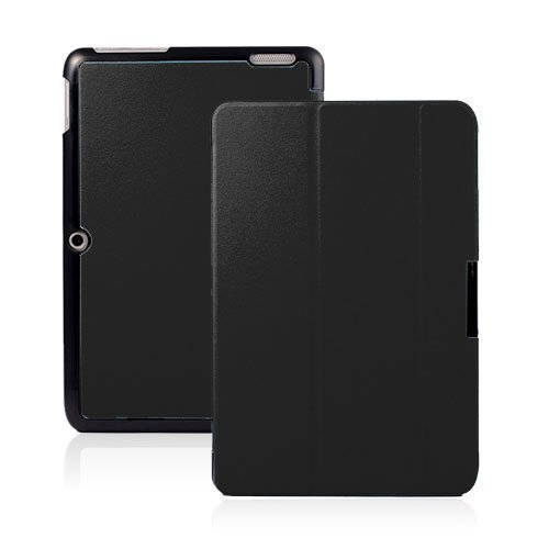 Garff Acer Iconia Tab 10 Taittuva Nahkakotelo Musta