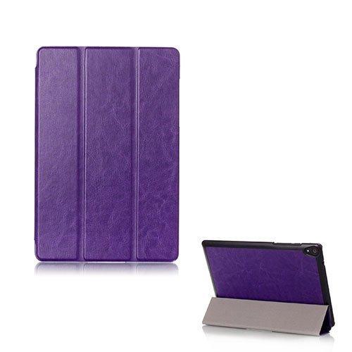 Garff Htc Google Nexus 9 Taittuva Nahkakotelo Violetti