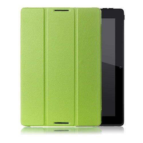 Garff Lenovo Ideatab A10-70 Leather Tri-Fold Case Green
