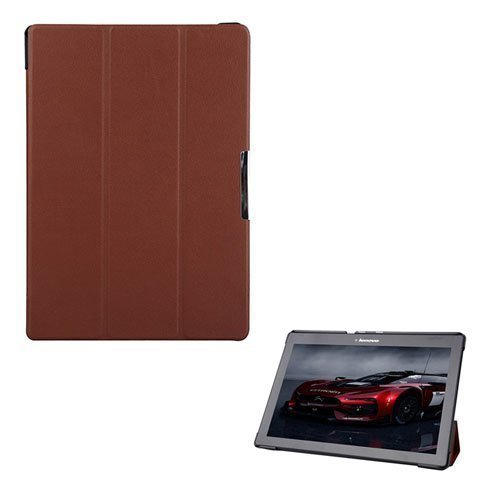 Garff Lenovo Tab 2 A10-70 Leather Case With Stand Brown