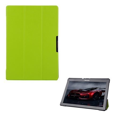 Garff Lenovo Tab 2 A10-70 Leather Case With Stand Green