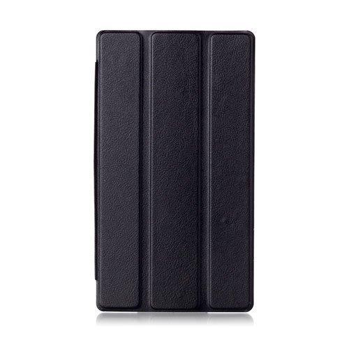 Garff Lenovo Tab 2 A7-30 Nahkakotelo Standillä Musta