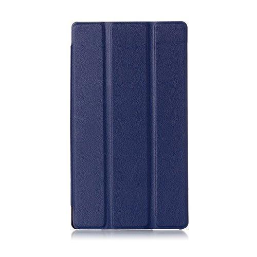 Garff Lenovo Tab 2 A7-30 Nahkakotelo Standillä Sininen