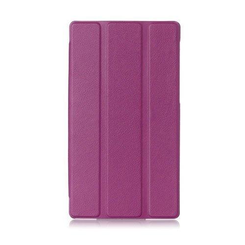 Garff Lenovo Tab 2 A7-30 Nahkakotelo Standillä Violetti