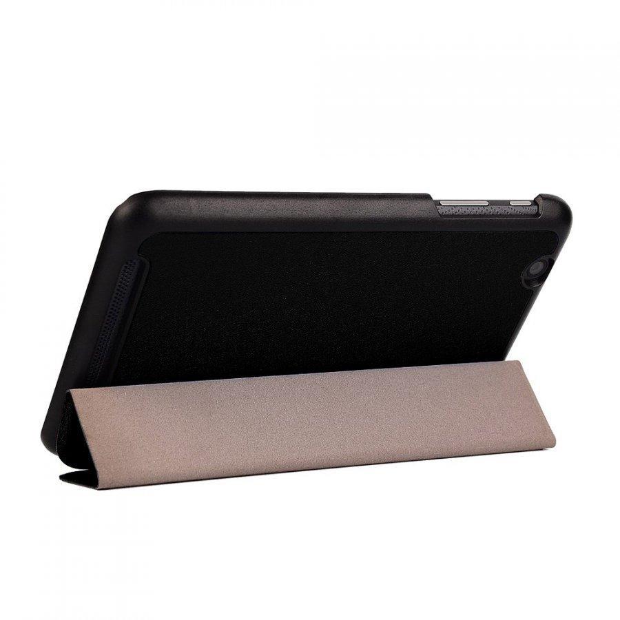 Garff Silk Acer Iconia One 7 Kolmesti Taittuva Nahkakotelo Musta