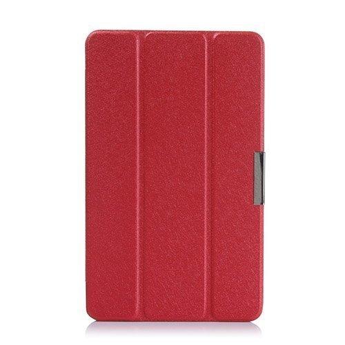 Garff Silk Acer Iconia Tab 8 A1-840 Nahkakotelo Punainen