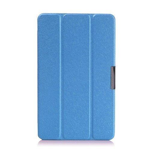 Garff Silk Acer Iconia Tab 8 A1-840 Nahkakotelo Sininen