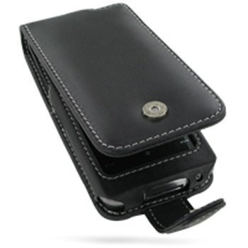Garmin Asus Nuvifone M10 PDair Leather Case 3BASM1F41 Musta