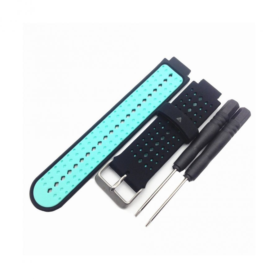 Garmin Forerunner 220 / 230 / 235 / 630 / 620 / 735 Ranneke Sininen / Musta