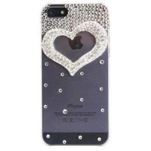 Gear by Carl Douglas Heart Case for iPhone5 Transparent Silver
