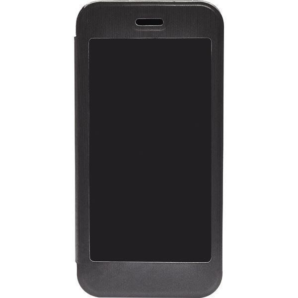 Gear4 BigWindow konstläderfodral touchfönster iPhone 6 svart