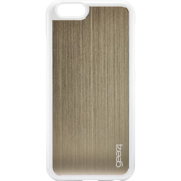 Gear4 Guardian iPhone 6 Kovamuovikuori valk/kulta