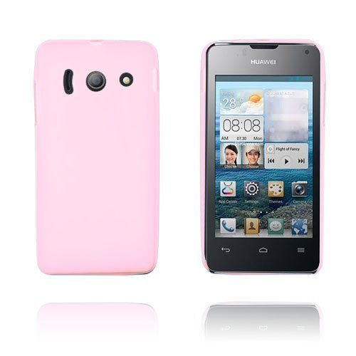 Gelcase Pinkki Huawei Ascend Y300 Suojakuori