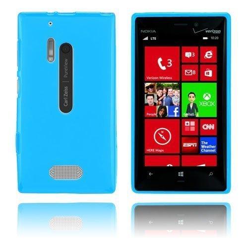 Gelcase Sininen Nokia Lumia 928 Suojakuori