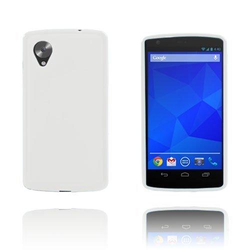 Gelcase Valkoinen Google Nexus 5 Suojakuori