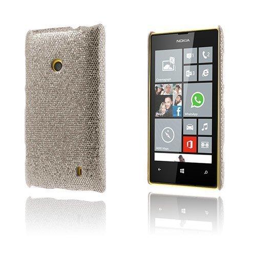 Glitter Hopea Nokia Lumia 520 / 525 Suojakuori