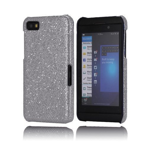 Glitter Hopeinen Blackberry Z10 Kotelo