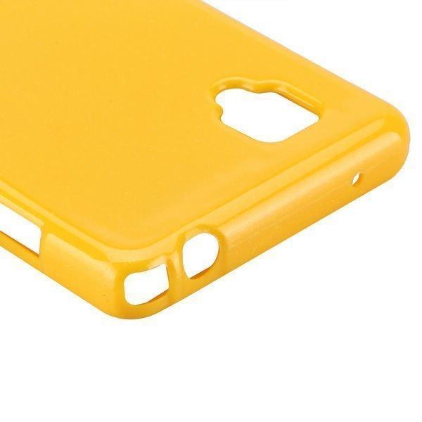 Glitter Keltainen Lg Optimus G Silikonikuori