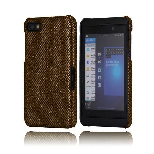 Glitter Kultainen Blackberry Z10 Kotelo