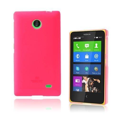 Glitter Kuuma Pinkki Nokia X Suojakuori