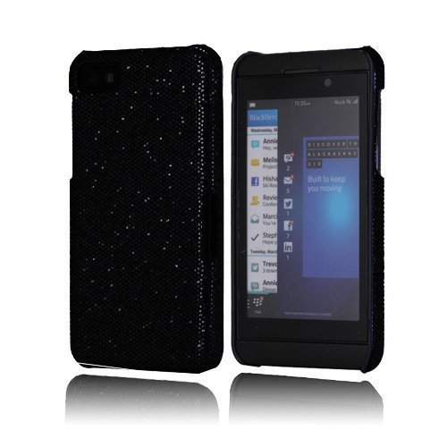 Glitter Musta Blackberry Z10 Kotelo