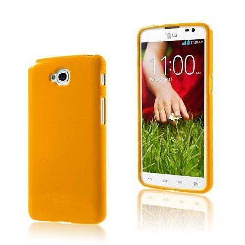 Glitter Orange Lg G Pro Lite Suojakuori