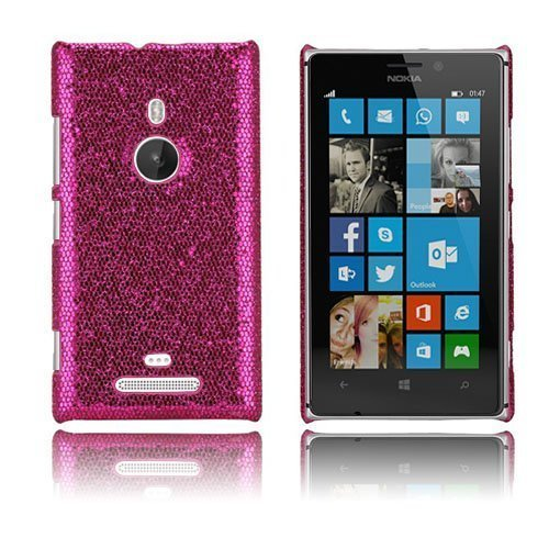 Glitter Pinkki Nokia Lumia 925 Suojakuori