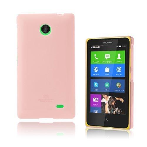 Glitter Pinkki Nokia X Suojakuori