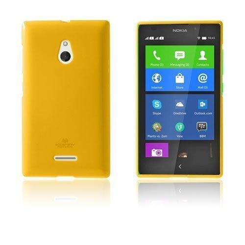 Glitter Rock Oranssi Nokia Xl Suojakuori