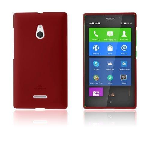 Glitter Rock Punainen Nokia Xl Suojakuori