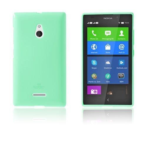 Glitter Rock Turkoosi Nokia Xl Suojakuori