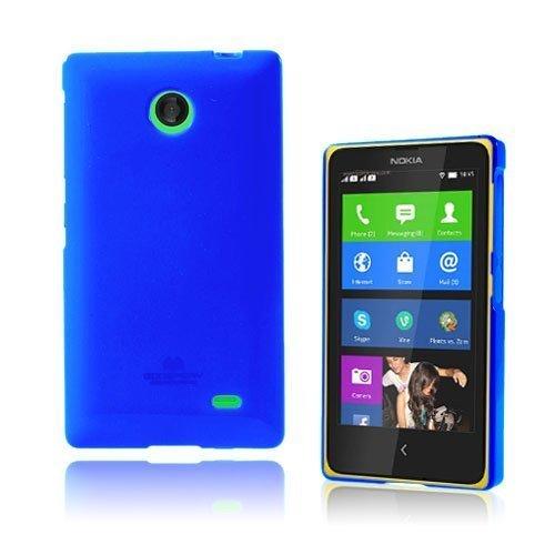 Glitter Sininen Nokia X Suojakuori