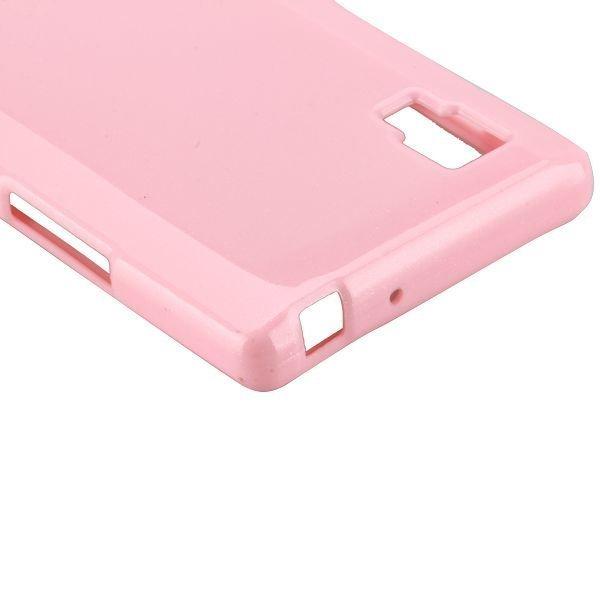 Glitter Vaaleanpunainen Lg Optimus L9 Suojakuori