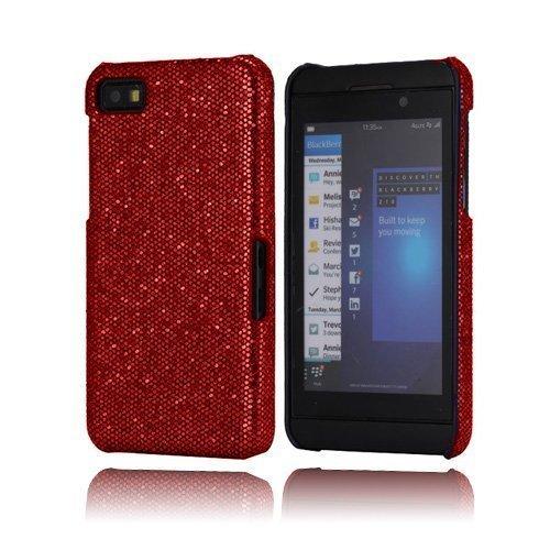 Glitter Viininpunainen Blackberry Z10 Kotelo