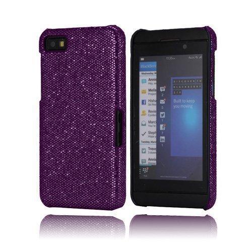 Glitter Violetti Blackberry Z10 Kotelo