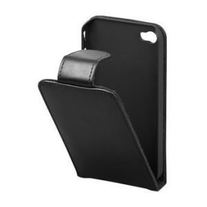 Goobay Leathercase for iPhone 4 & 4S Black
