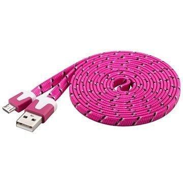 Goobay USB 2.0 / MicroUSB Kaapeli Pinkki