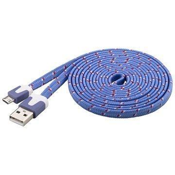 Goobay USB 2.0 / MicroUSB Kaapeli Violetti
